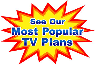Our Most Popular TV Plans