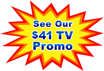 See the details of our $41 TV Promo