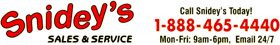 Snidey's Sales and Service Logo
